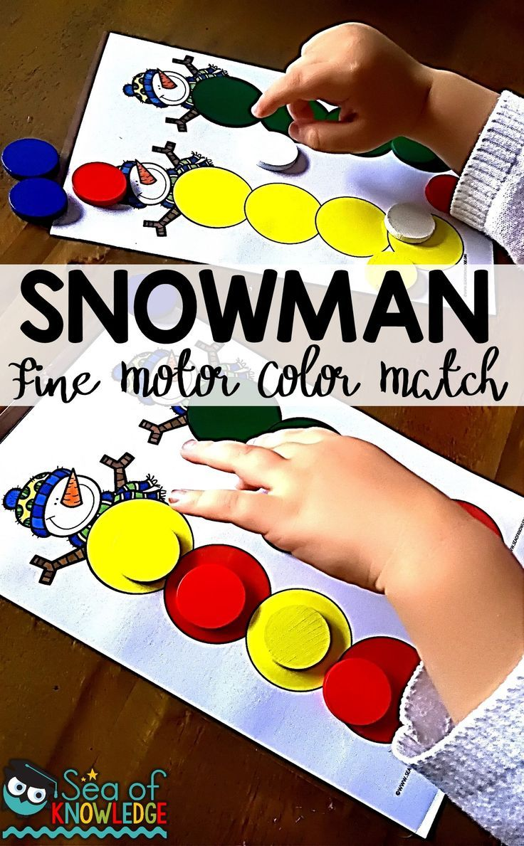 montessori snowman color activity toddlers - Colour Activities For Toddlers