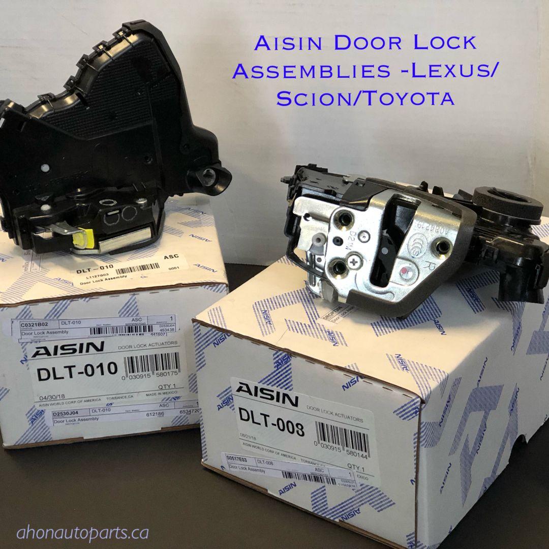 Door Lock Assemblies By Aisin Foorlockassembly Aisin Toyota Scion Lexus Dlt010 Dlt008 Door Locks Scion Toyota