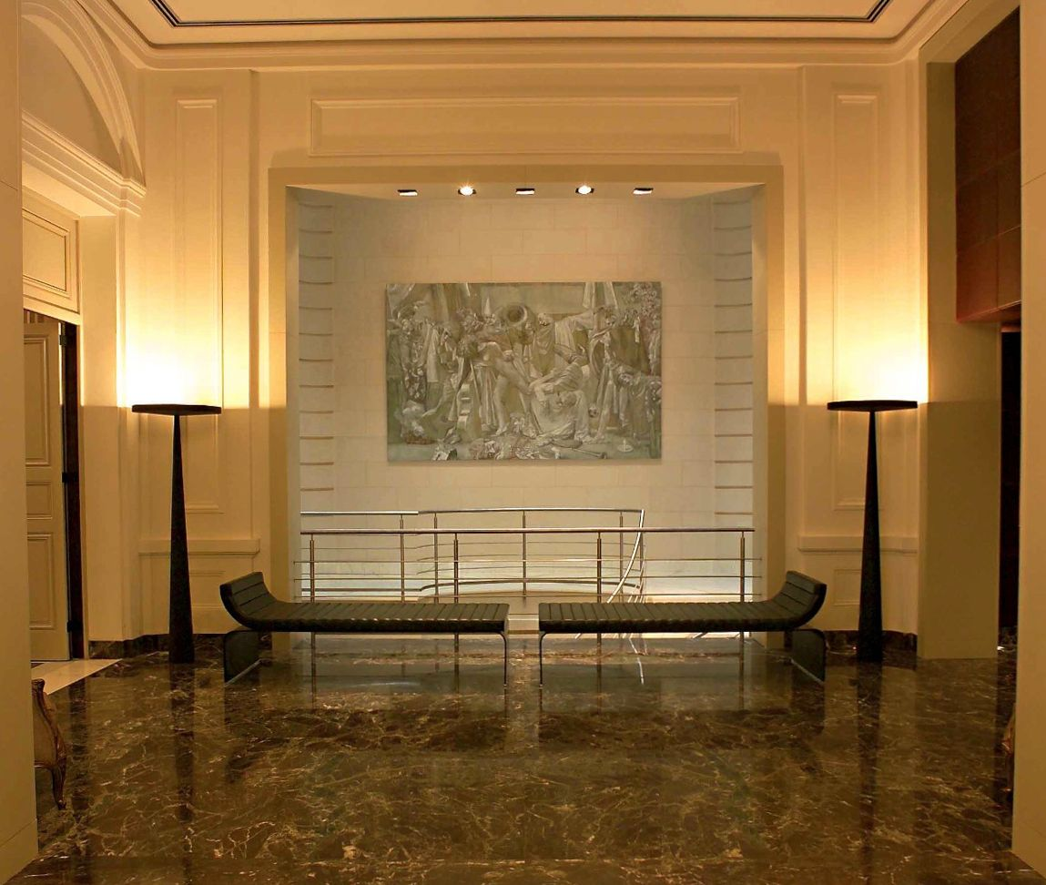 Equilibre floor lamps at palacio duhau park hyatt hotel in buenos equilibre floor lamps at palacio duhau park hyatt hotel in buenos aires prandina arubaitofo Gallery
