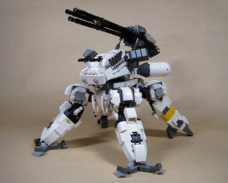 LEGO Mech http://4.bp.blogspot.com/_RIM2MAMg-DQ/TU6DOP2jnzI/AAAAAAAABSk/JfK74KMGD_0/s1600/gattling-gun04.jpg