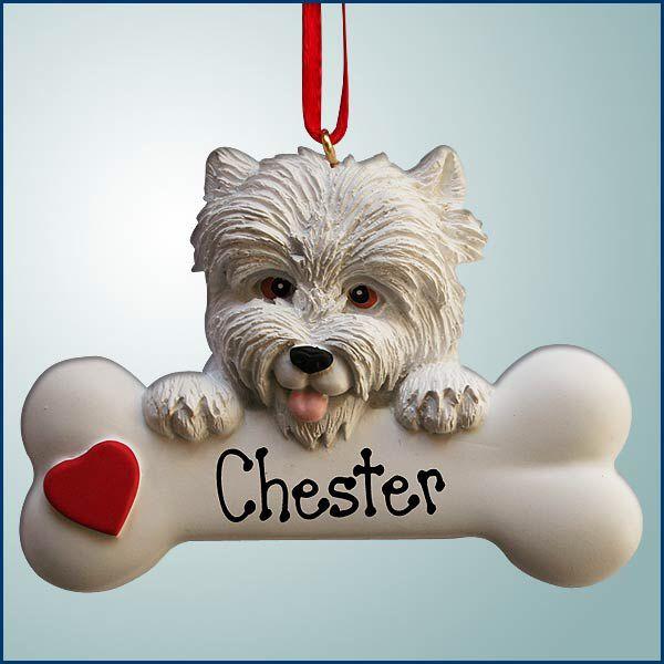 Westie Christmas ornament Westie Dog, Westies, Pet Dogs, West Highland  White, White - Westie Christmas Ornament Pet-Dog-Westie (my Wishlist) Westies