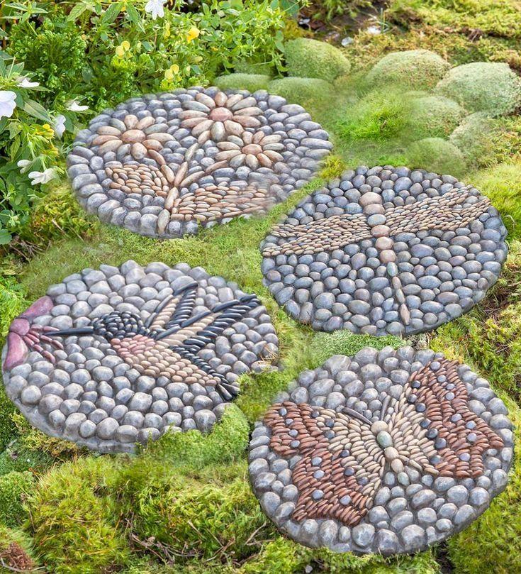 Easy diy garden stepping stones gardenrocks diy garden