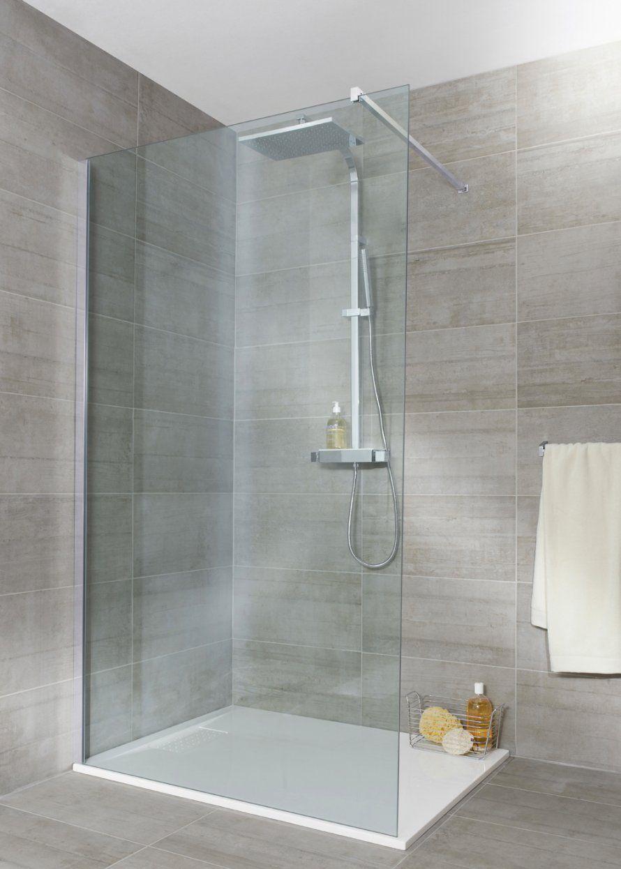 Douche italienne - Lapeyre  Paroi de douche, Salle de bains