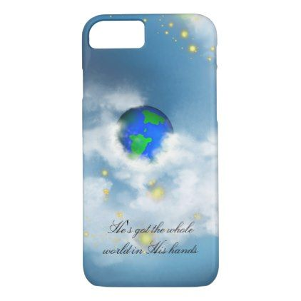 The World In His Hands IPhone 7 Case