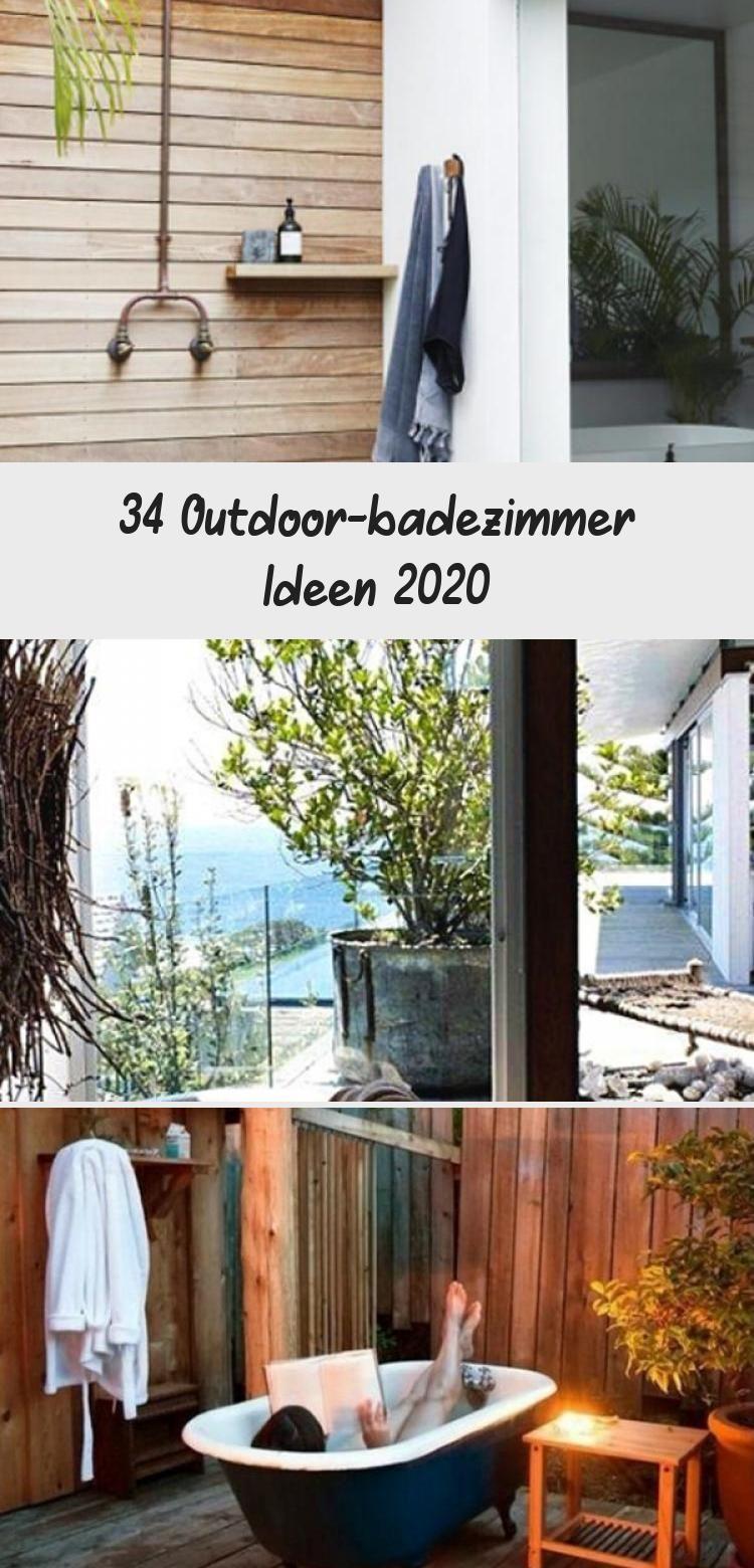 34 Outdoor Badezimmer Ideen 2020 Badezimmer Badideen Freien Gartenideen2020