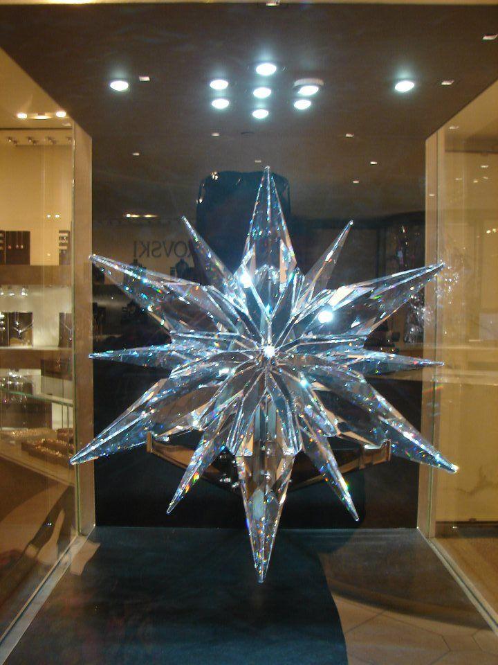 #Swarovski #Christmas #Star #Rockefeller #Tree #NYC2011