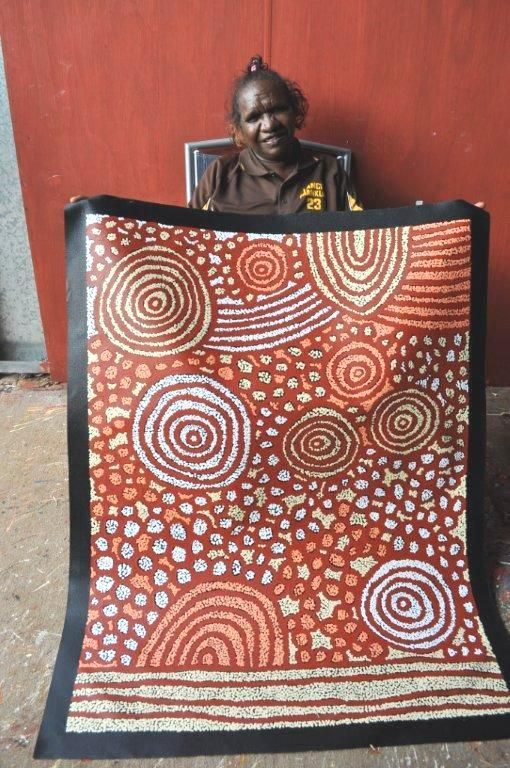 Katherine Marshall Nakamarra / Women's Ceremony Aboriginal Art – Buy Authentic Australian Indigenous Art and Paintings