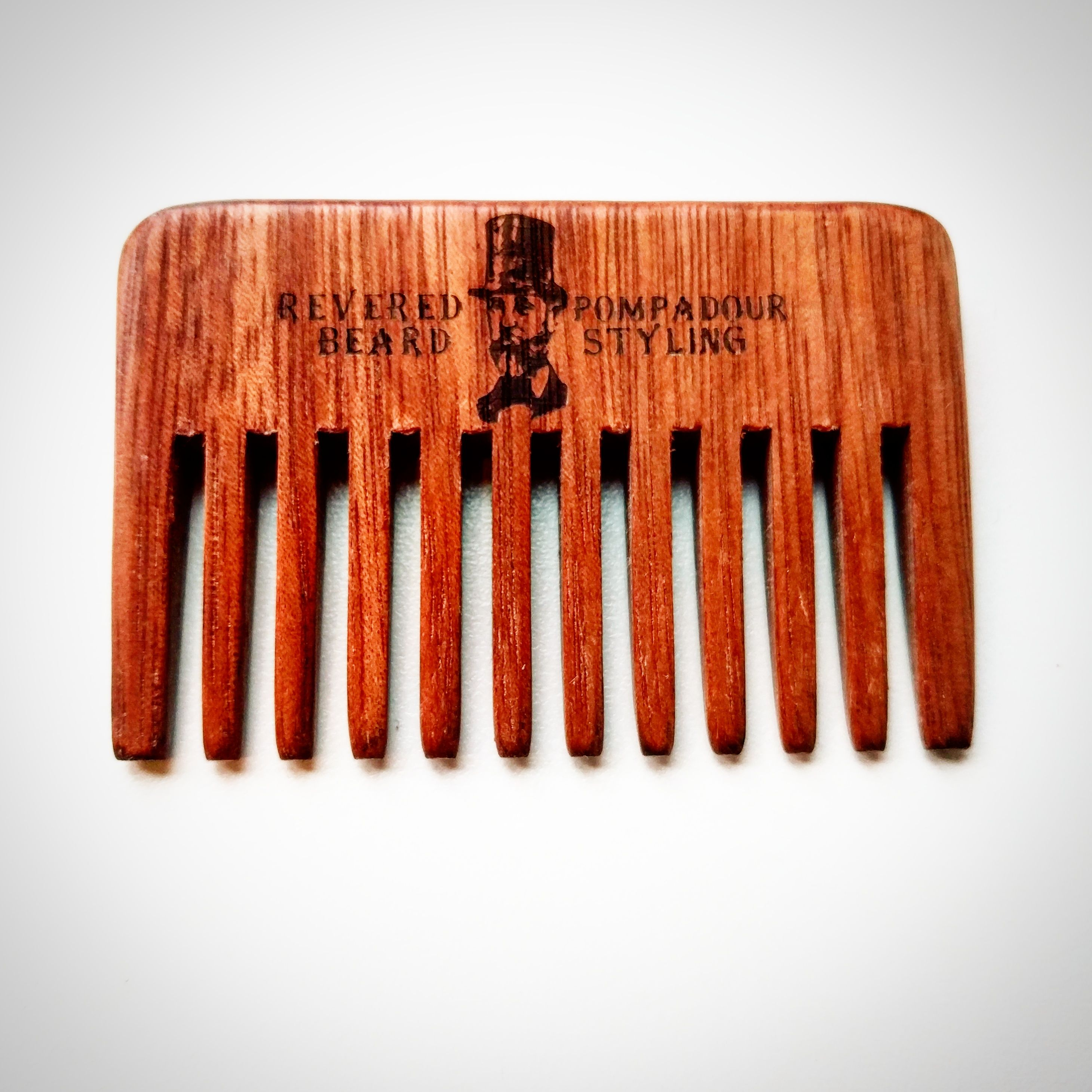 Pompadour Styling and Streaking comb by The Revered Beard