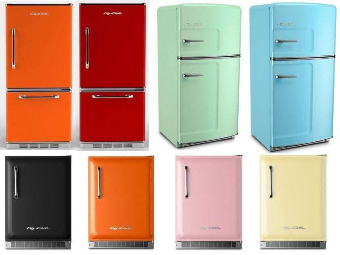 Frigoriferi colorati nel 2019 | Cucine | Refrigerator, Vintage ...