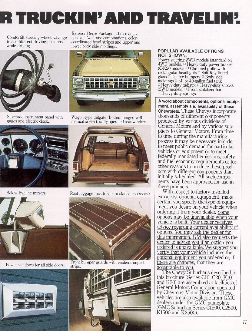 1980 Gmc Truck 1980 Chevrolet And Gmc Truck Brochures 1980 Chevy Suburban 11 Jpg Classic Chevy Trucks Chevy Gmc Truck