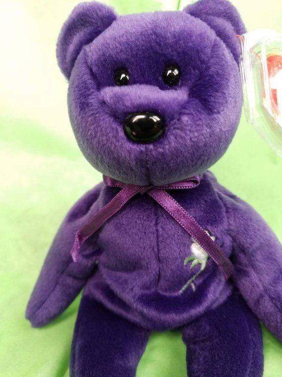 0f6f8bb792d A ROYAL SALE! Vintage Princess Dianna Beanie Bear 1997