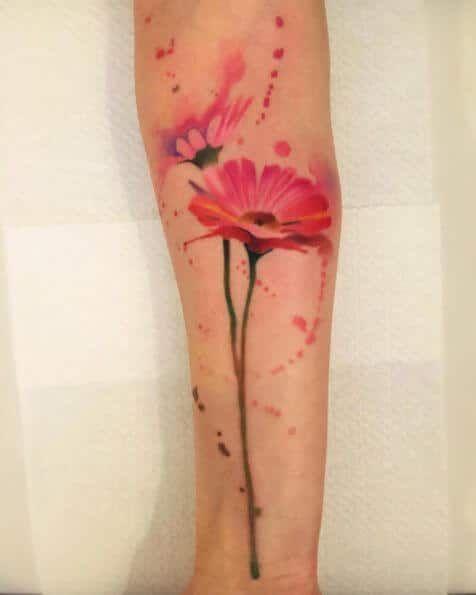 Photo of 50 Blumentattoos für Frauen – Tattoo Motive
