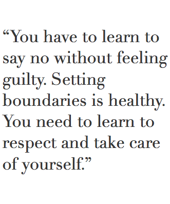 I Really Need To Learn This I Open Up I Dont Set Boundaries And