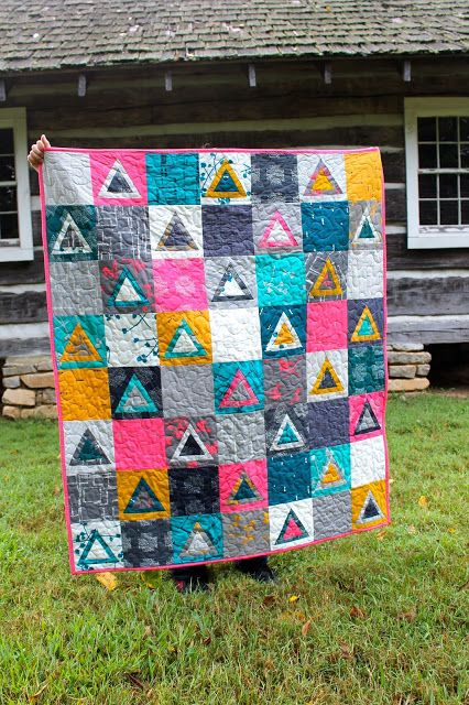 kelbysews: Triangle Imprint: 30 Days of Sewing with AGF