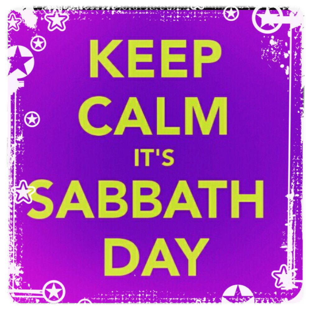 Keep calm its sabbath day greetings and salutations keep calm its sabbath day kristyandbryce Image collections