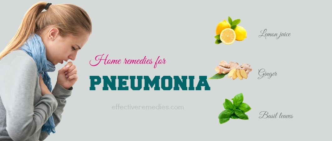 Top 31 Natural Home Remedies For Pneumonia In Adults