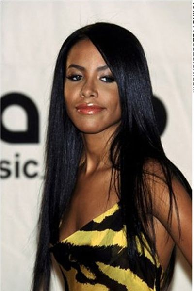 Aaliyah, beautiful black long straight hairstyle | Everything ...