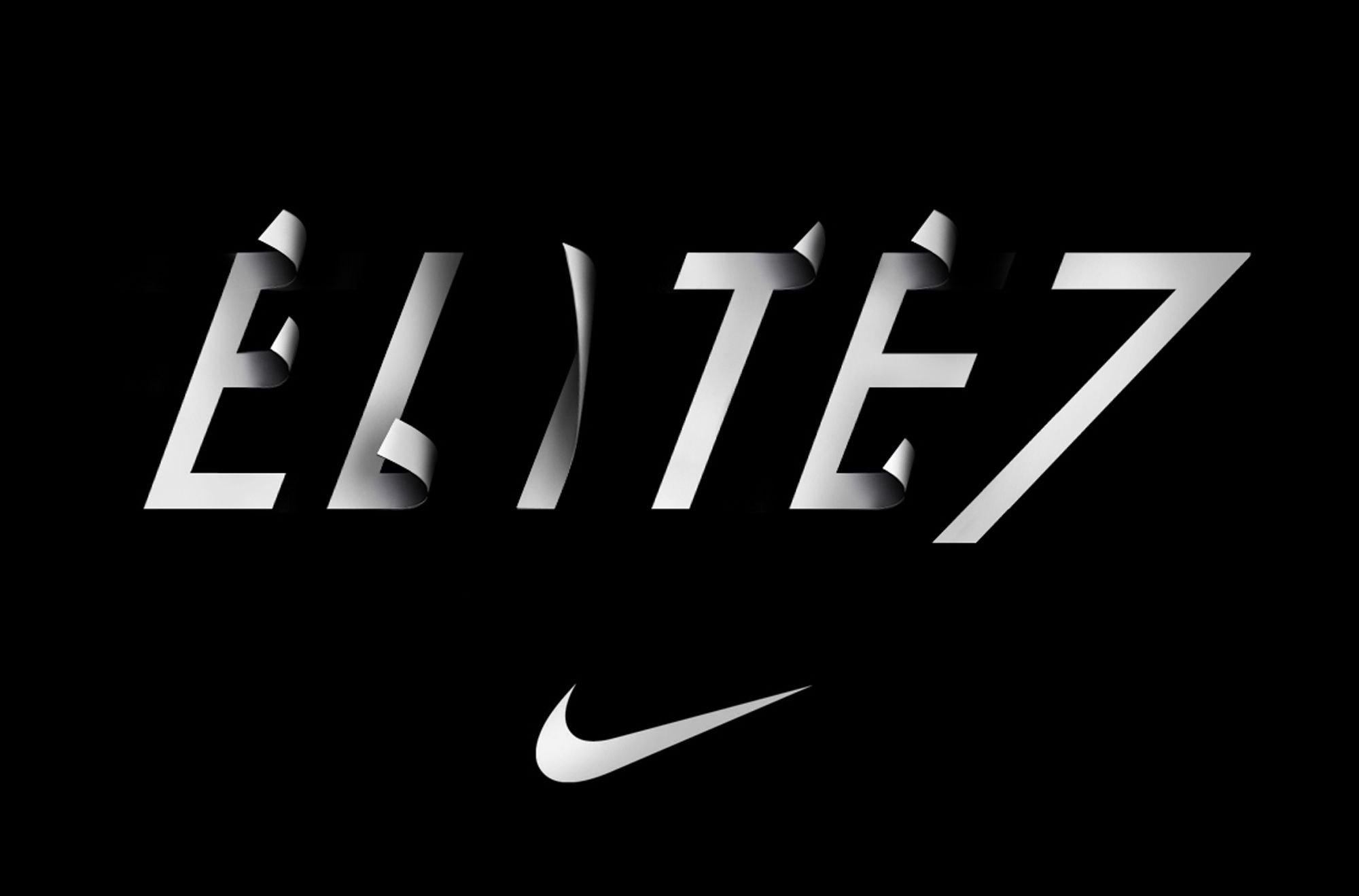 Elite 7 Nike Nike Lettering Typography