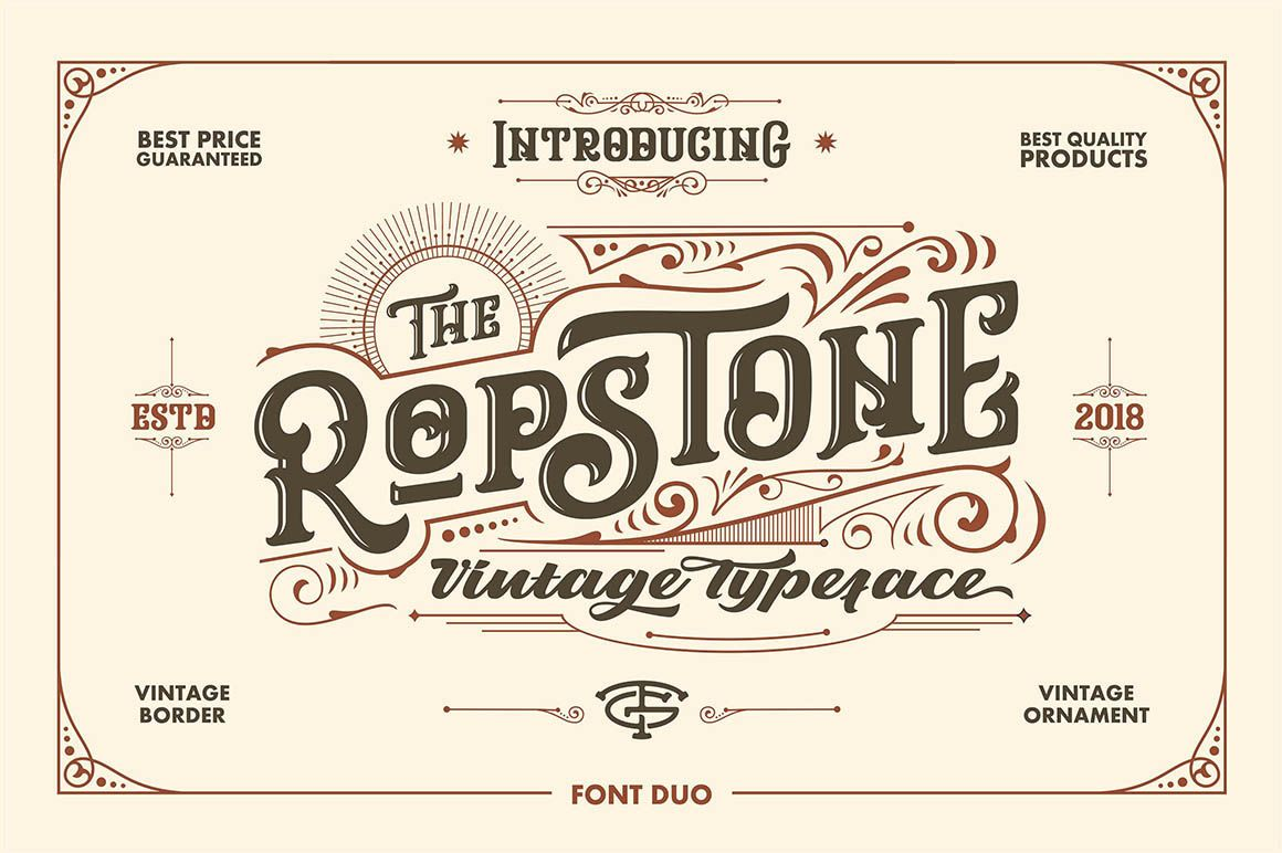 Ropstone Free Font Dealjumbo Com Discounted Design Bundles With Extended License Lettering Typeface Create Words