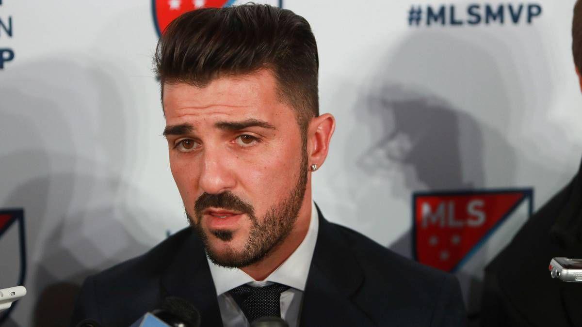 Chic David Villa Picks Up His David Villa Hairstyle 2018 In 2019