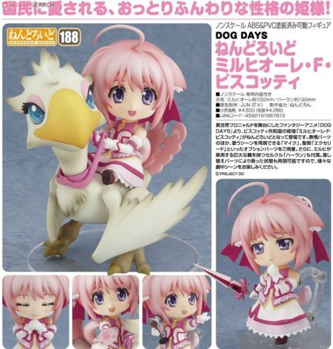 Nendoroid  Dog Days Millhiore F Biscotti Figure Good Smile Company Japan