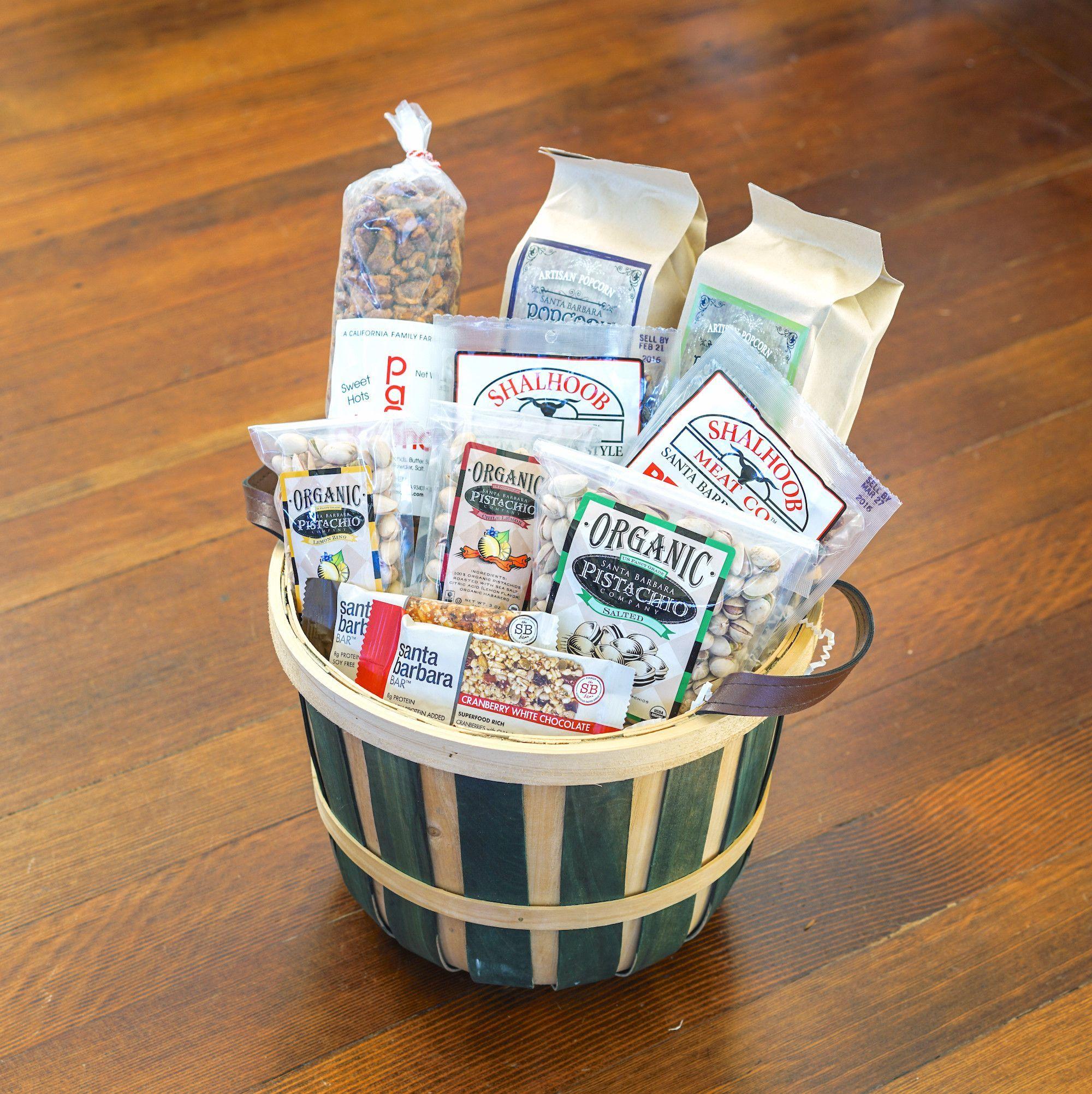 Santa barbara farm snacks gift basket auction ideas basket santa barbara farm snacks gift basket negle Gallery