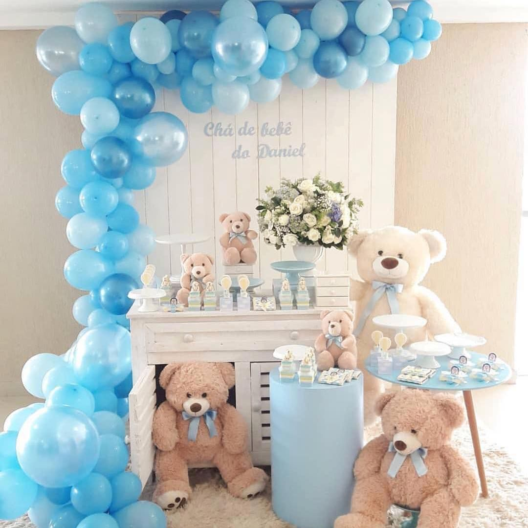 Wide Eyed Party Supplies Decoracion Baby Shower Bear Baby Shower Theme Baby Bear Baby Shower