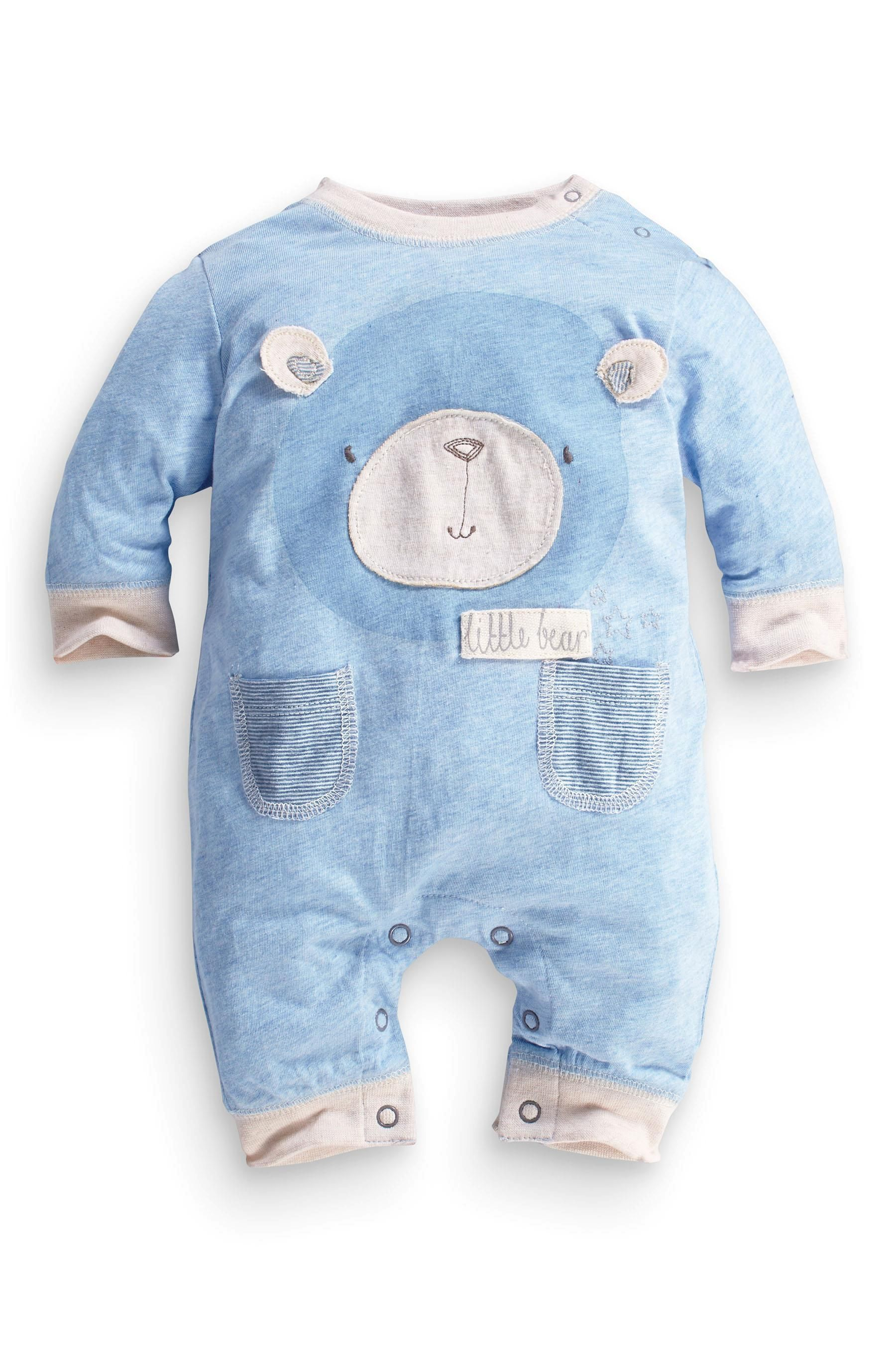 Buy Blue Bear Romper 0 18mths from the Next UK online shop