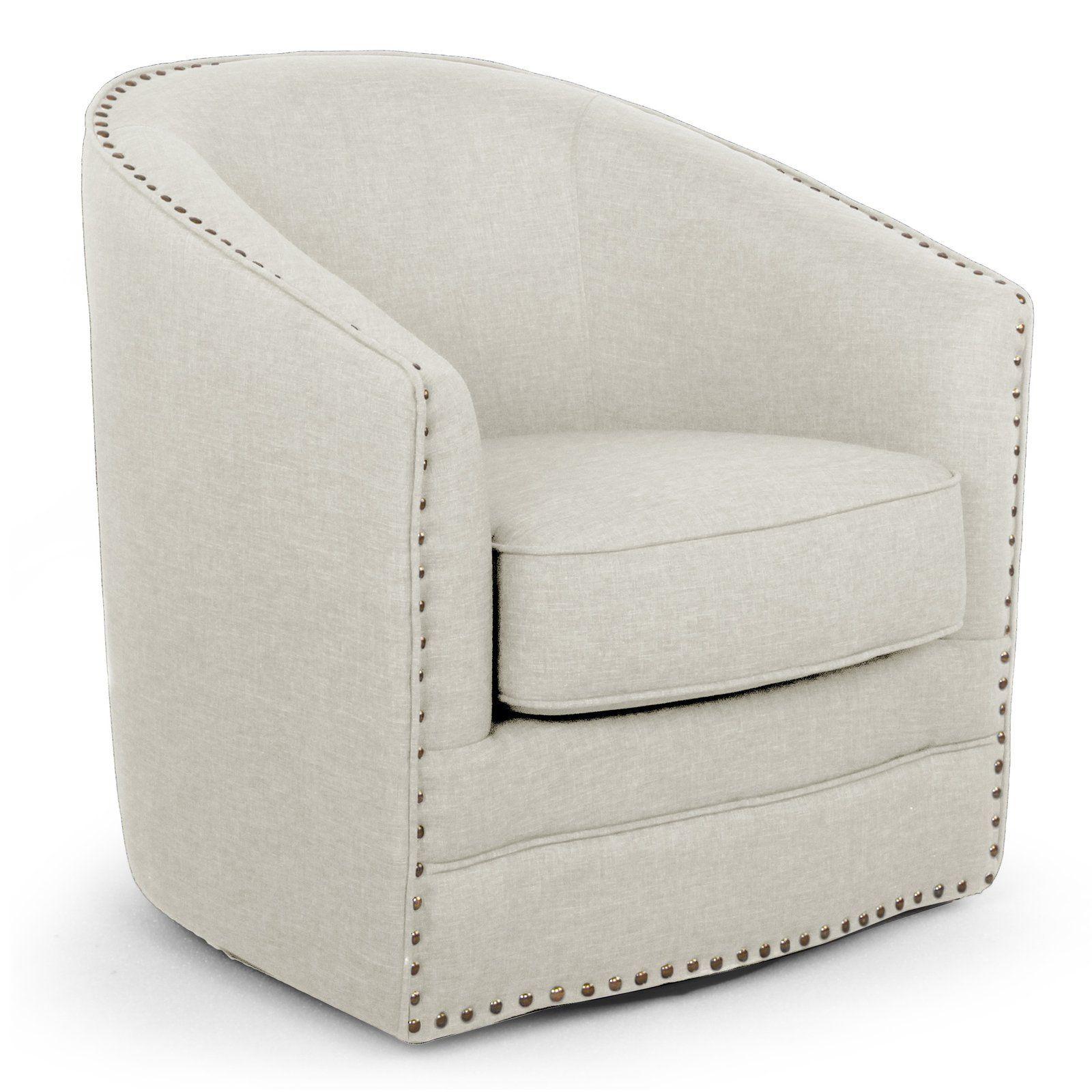 Baxton Studio Porter Barrel Chair from