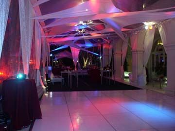 Outdoor wedding dance floor rental | Wedding plans | Pinterest ...