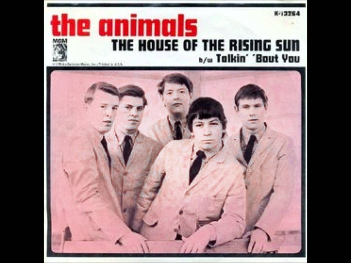 The Animals House Of The Rising Sun Hq House Of The Rising Sun Rock Album Covers Music History