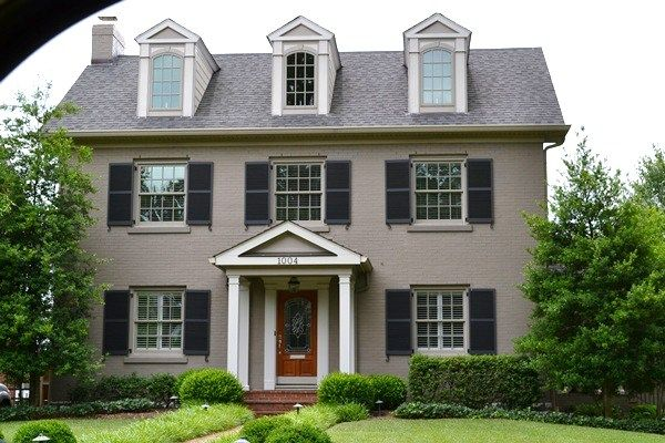Painted brick a plethora of inspirational pictures interieur - Exterior paint for brick homes pict ...