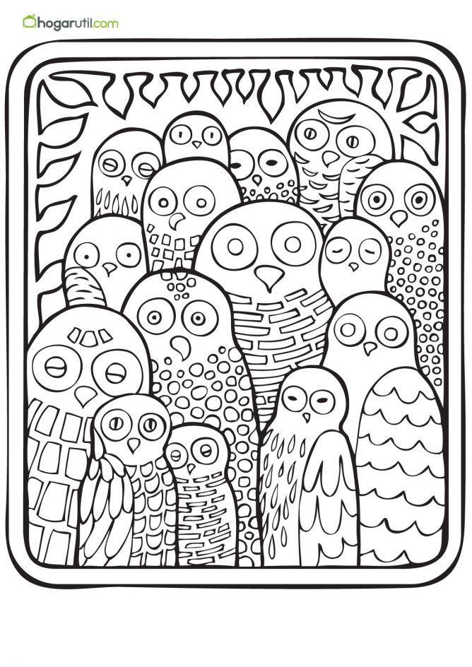 Colorear La Nueva Forma Para Aliviar El Estres En Adultos Hogarmania Dibujos Para Colorear Adultos Libro De Colores Paginas Para Colorear