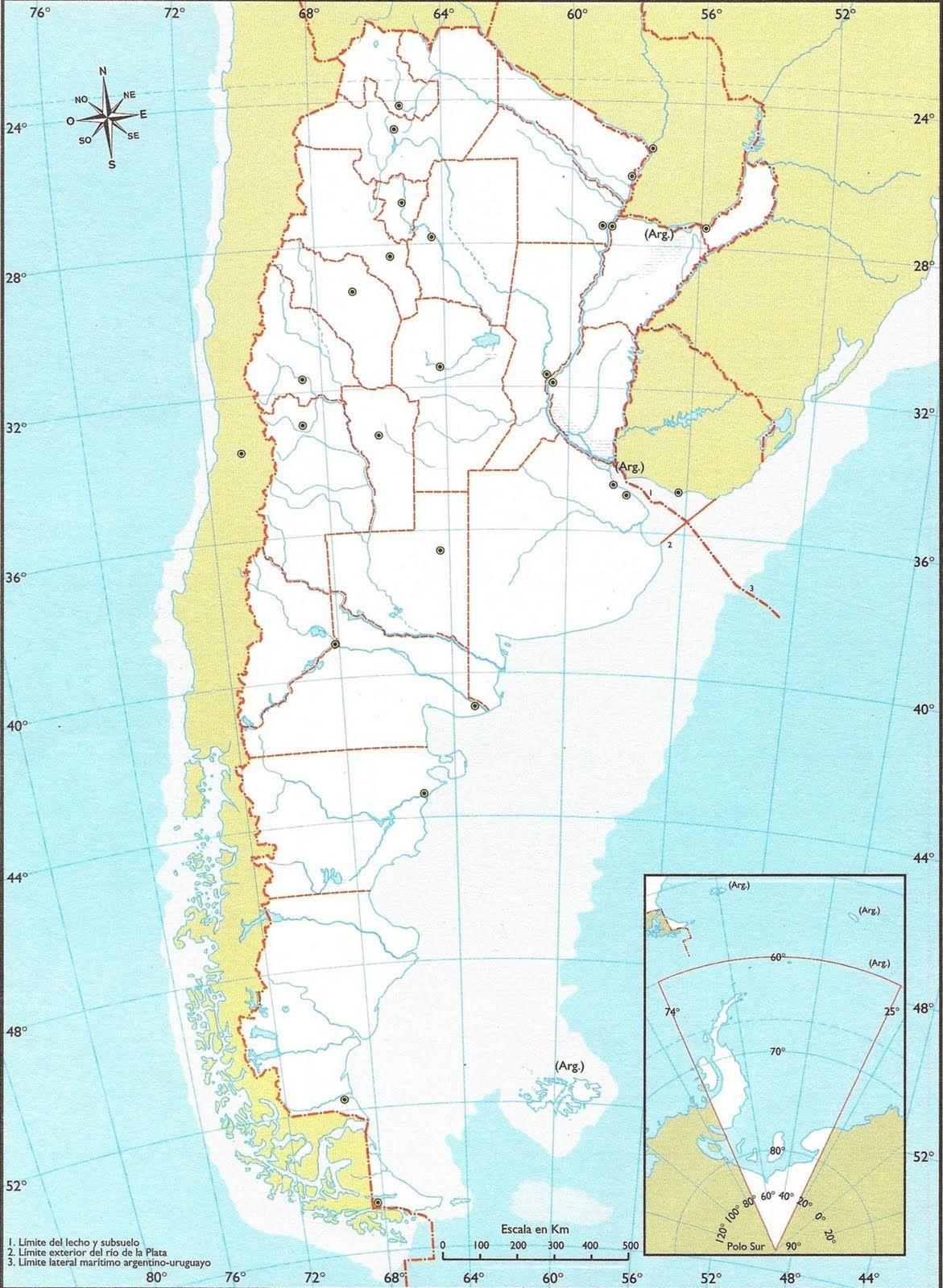 Resultado De Imagen Para Mapa De Argentina Mapa De Argentina