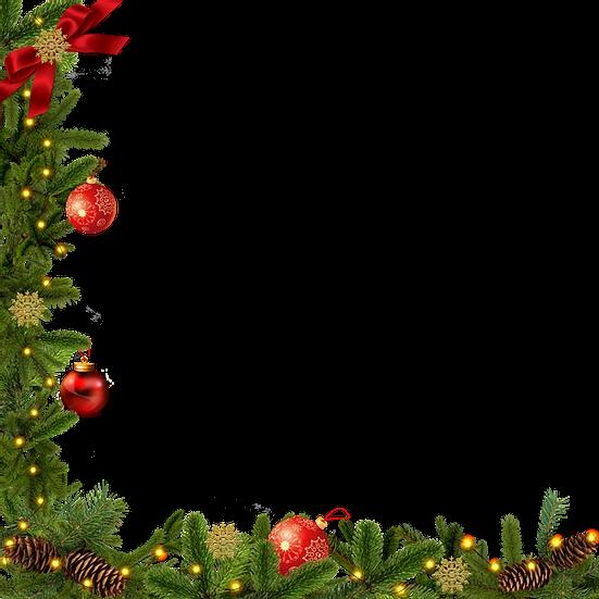 Christmas Cordless Garland Transparent Background Digital Poster Upcrafts Design Christmas Photo Frame Unicorn Wallpaper Cute Christmas Frames Free