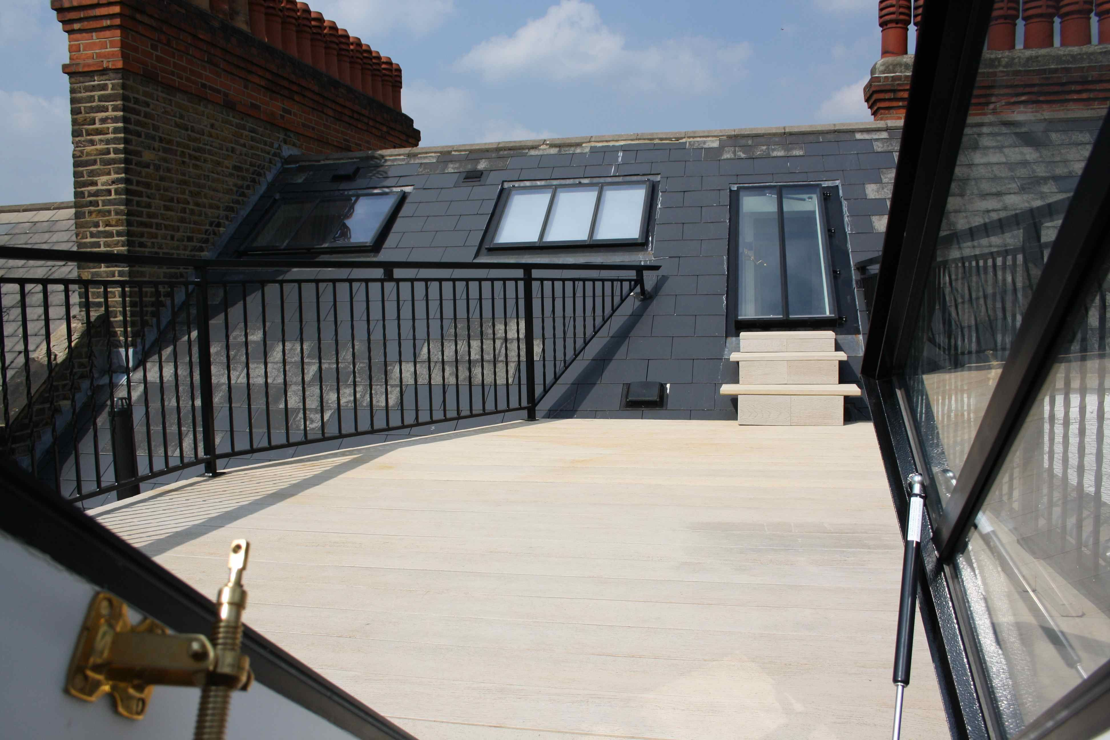 Loft Conversion Adjoining Roof Terraces Simply Loft