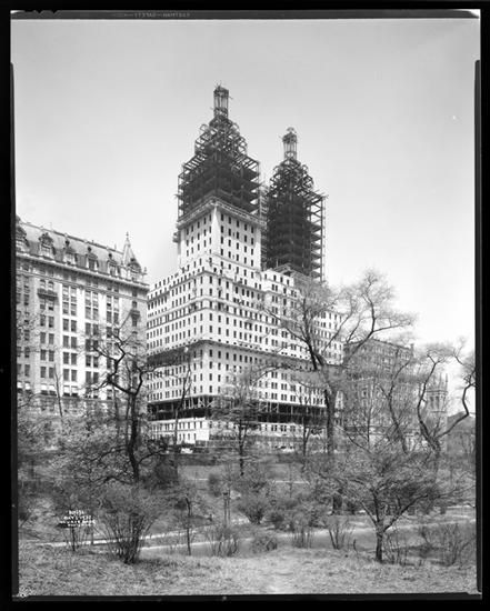 1930, The Construction Of The San Remo Apartment Buildings