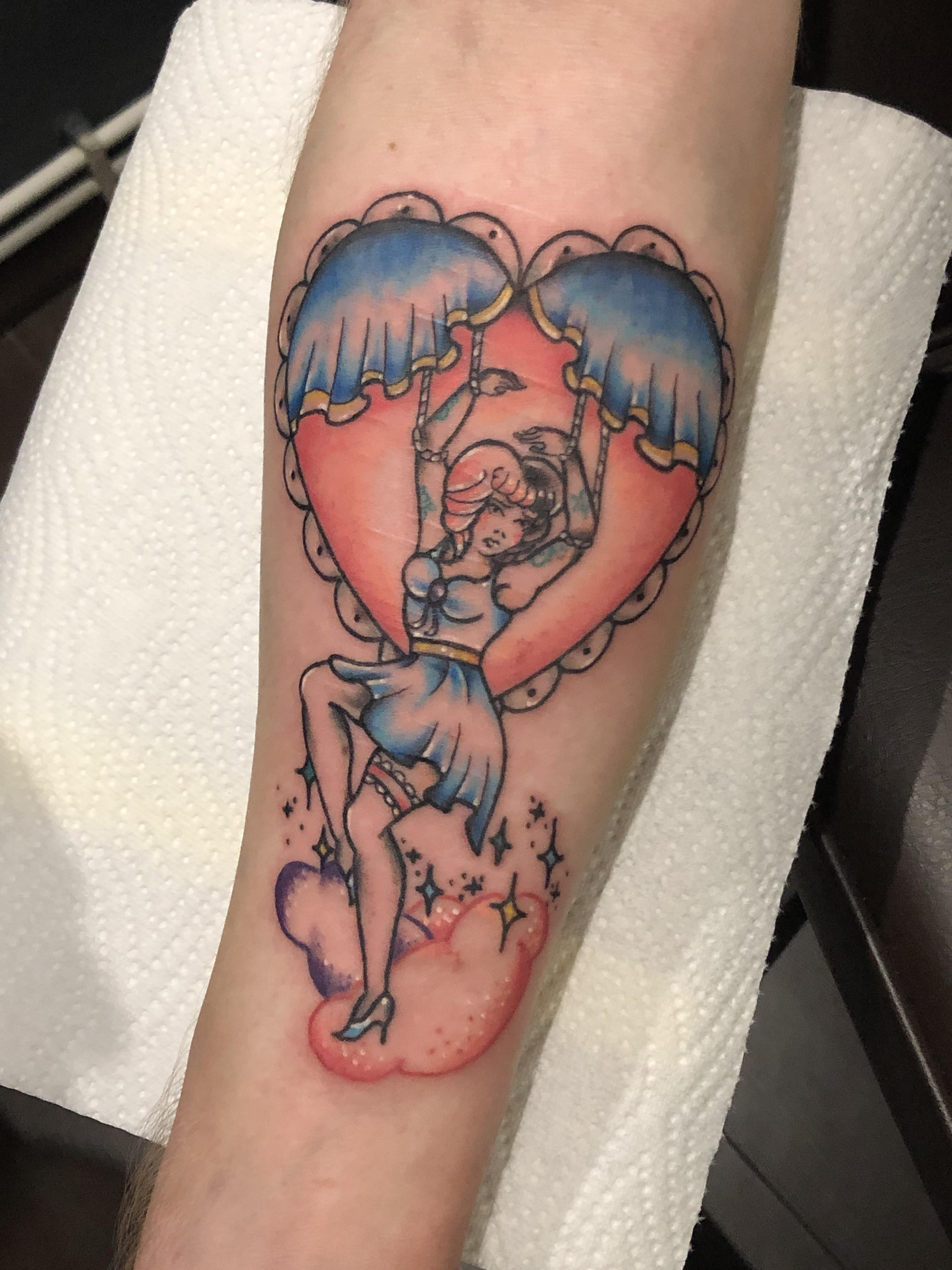 Melanie Martinez On My Forearm By Caprice Tattoo Melanie Martinez Pastel Tattoo Sleeve Tattoos