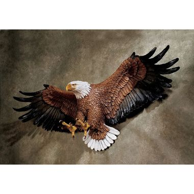 Freedom S Pride American Eagle Wall Sculpture Large In