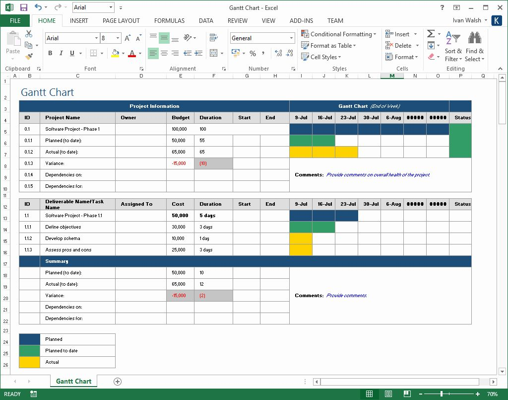 25 Project Execution Plan Template in 2020 Simple