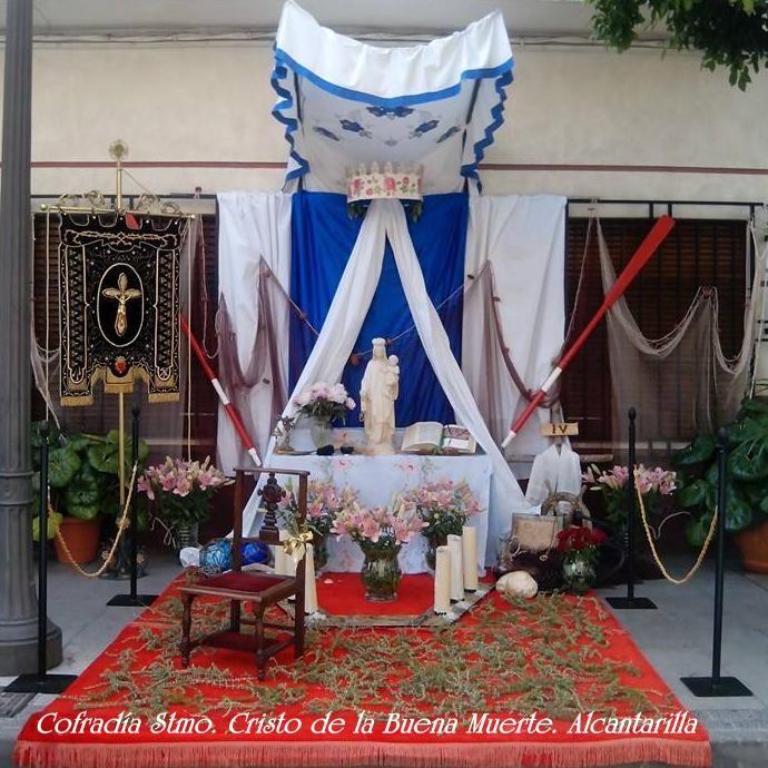 Altar Decoration For Chairs: Altar Conmemorativo. Corpus Christi 2014. Alcantarilla