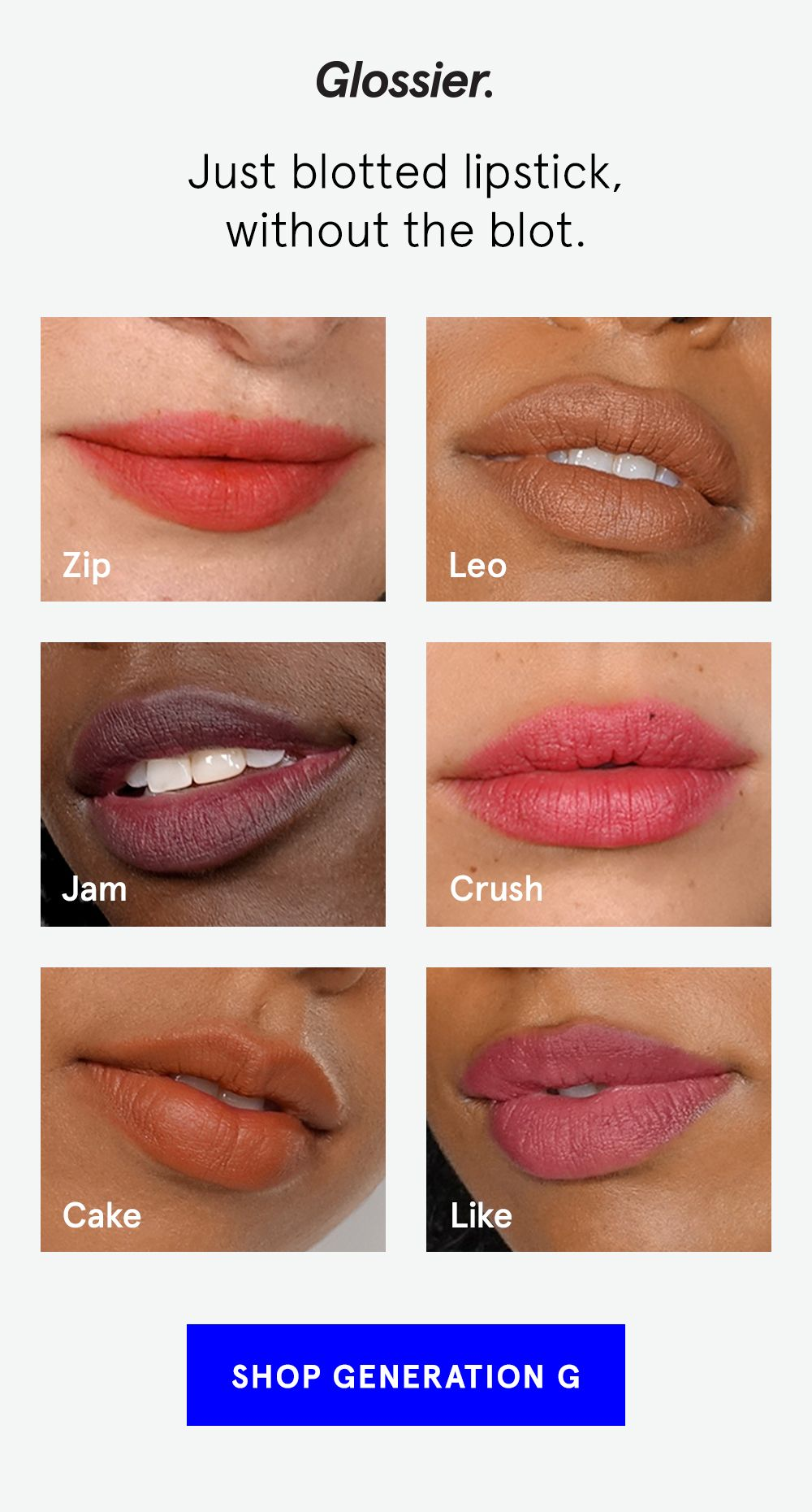 Generation G Is A New Kind Of Lip Color That Gives The Look And