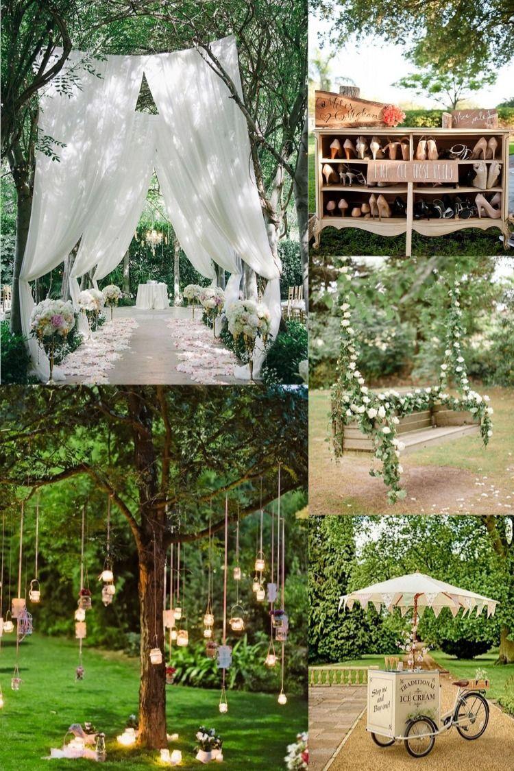 20 Amazing Outdoor Garden Wedding Ideas On A Budget For 2020 Garden Wedding Ideas On A Budget Garden Wedding Decorations Rustic Garden Wedding