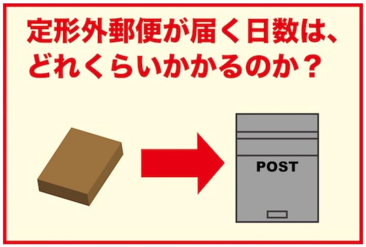 届く 普通 日数 郵便