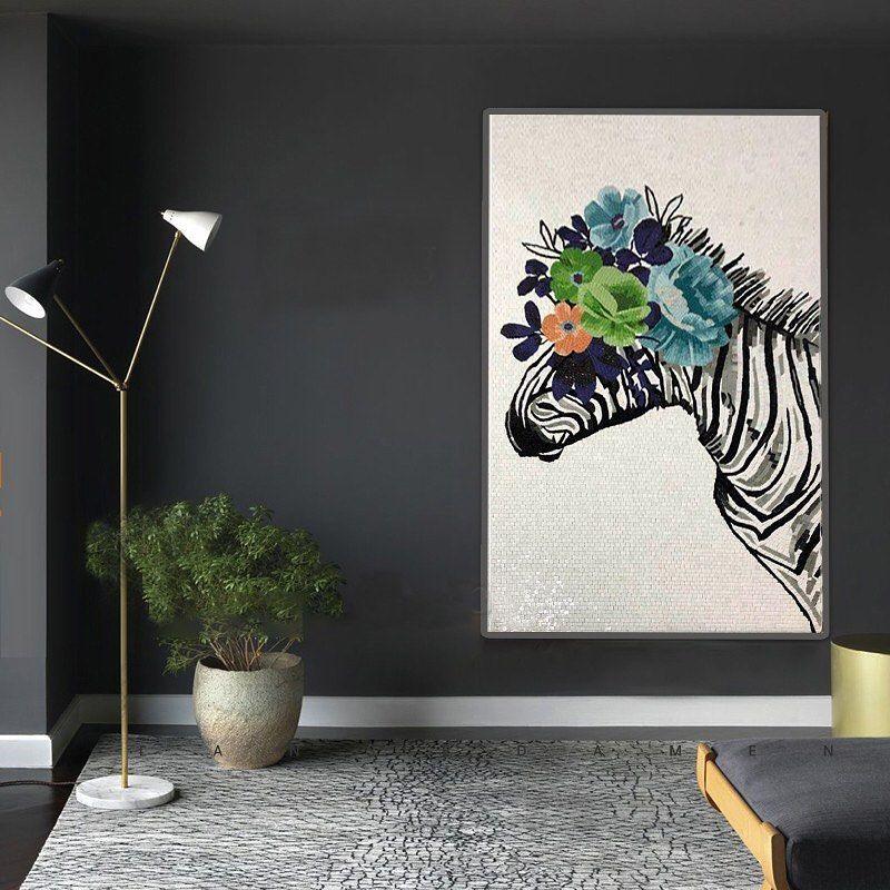 A modern and beautiful mosaic artwork to brighten your day. #handmade #tile #mosaic #art . . . #interiordecor #interiordesign #homedecor #homeinteriors#interiordesigners  #instadecor#instagood#homedesign #decor#instadaily #artoftheday#designinsp #interiorinspo#home #inspiration#instapic#picoftheday#artist#artwork #artsy#instaart #homedecoration #art #home #decor