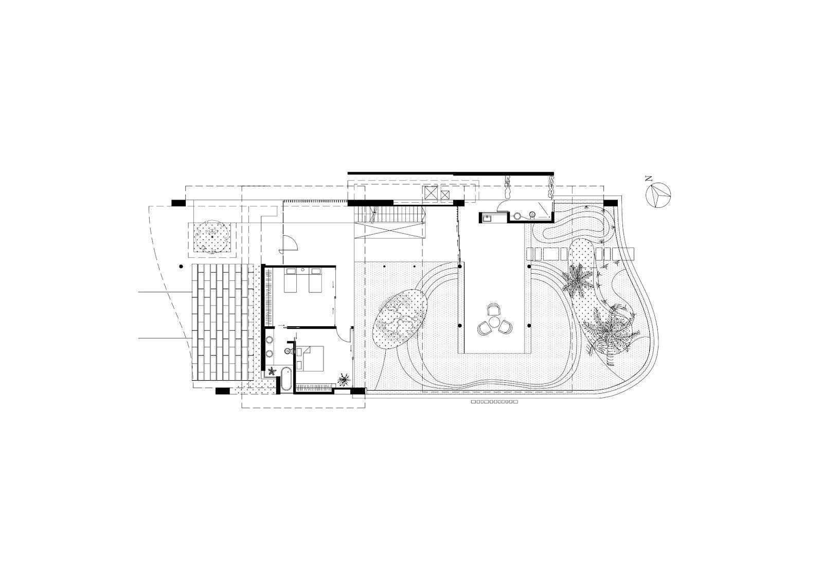 Modern luxury tropical house floor plans   Behance   Pinterest ...