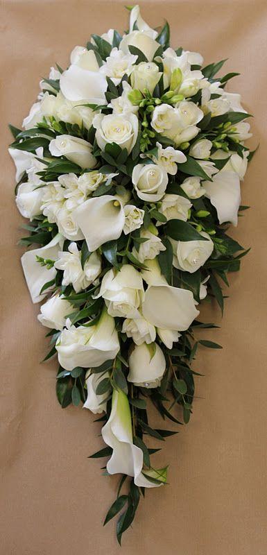 7847373199a elegant teardrop bouquet. elegant teardrop bouquet Rose Wedding Bouquet