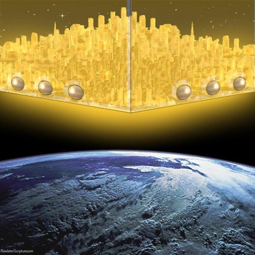 New Jerusalem Foundation Stones | ... New Jerusalem, Holy City ...
