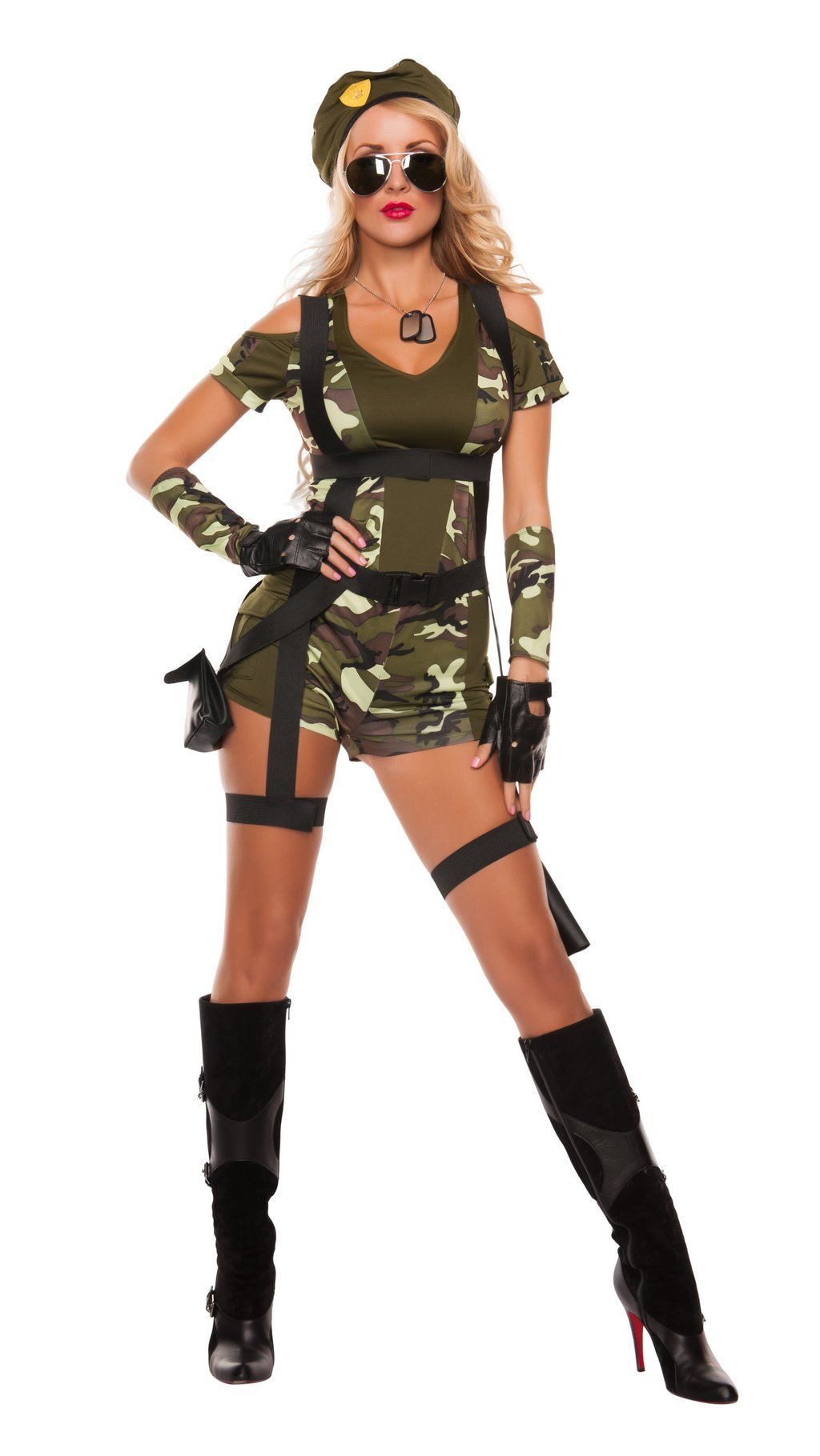 Pin on Military and Patriotic Women's Costumes