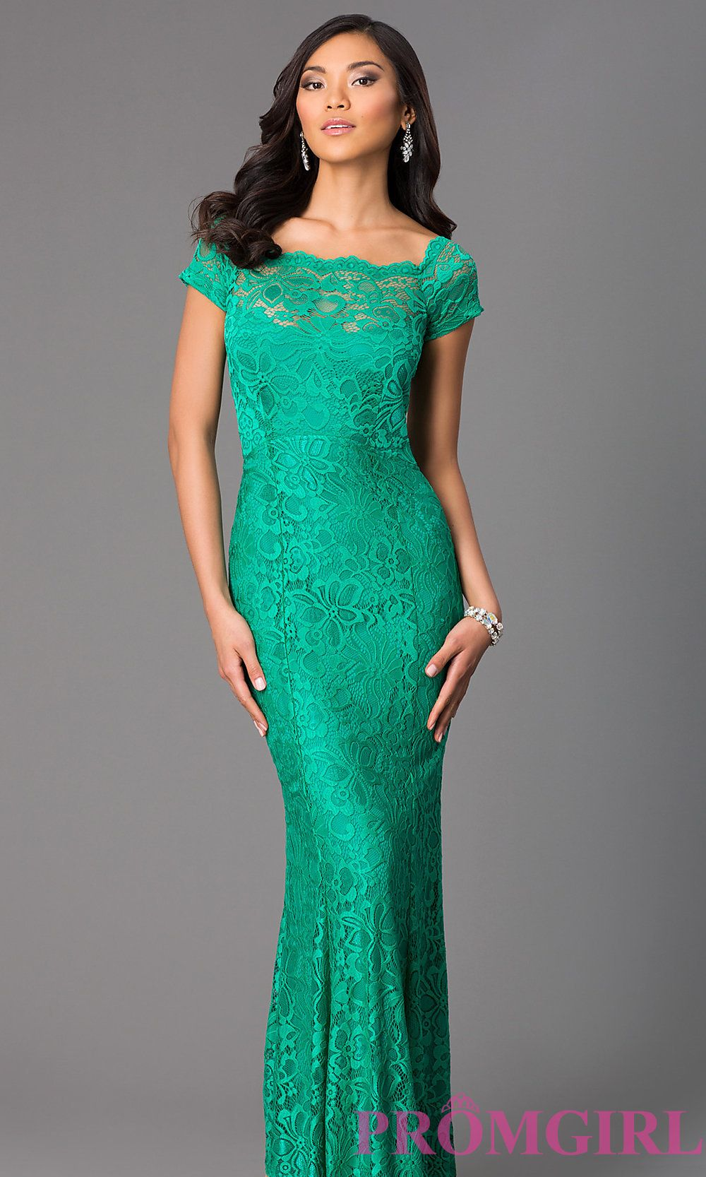 Image of long short sleeve lace dress. Front Image | winter weddings ...